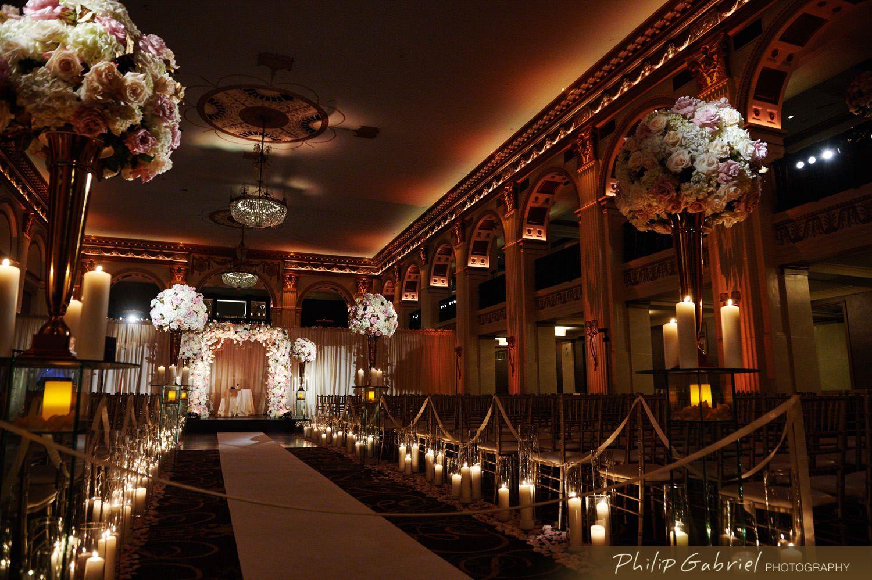 Beautiful Ballroom At The Ben Wedding Philip Gabriel Photography In 2020 Ballroom Wedding Wedding Ballroom