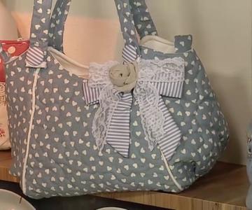 Aprenda como fazer uma linda bolsa!