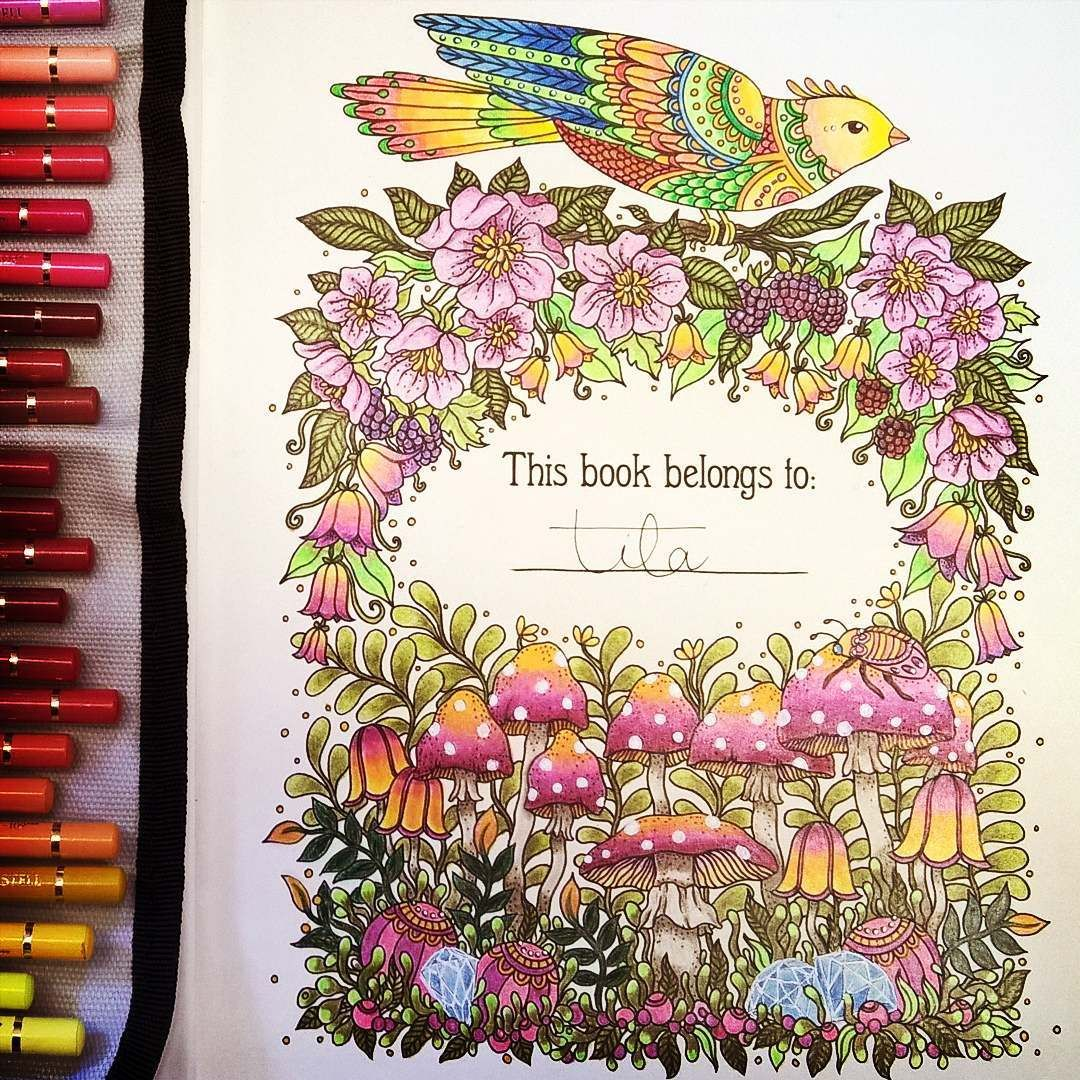 Done This Time It Was Hanna Karlson S Dagdrommar Coloring Book