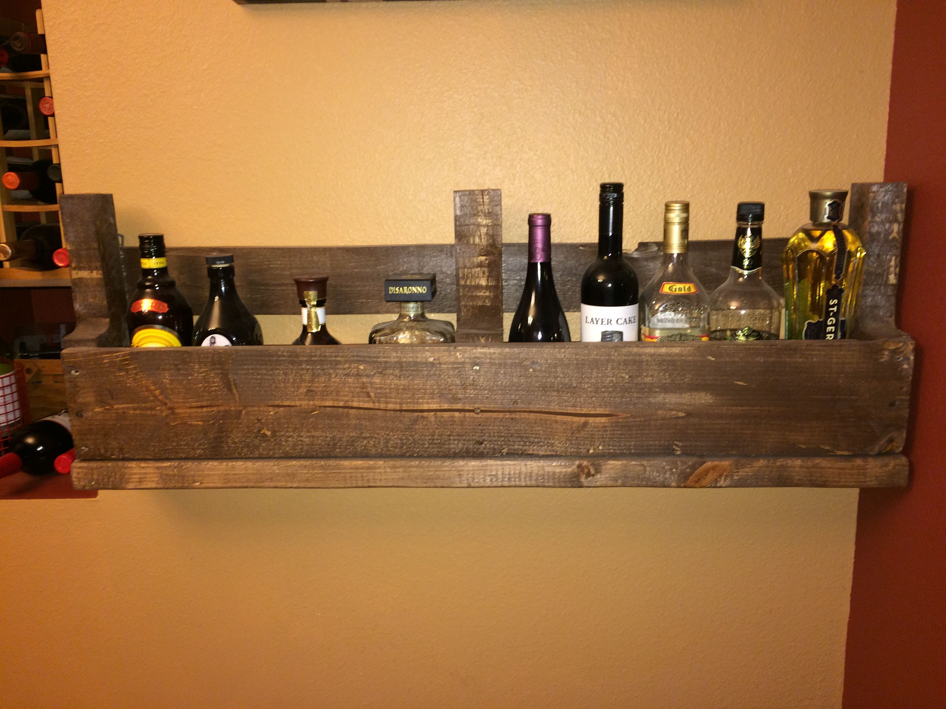 Wine rack hollyus pallet projects pinterest pallet projects
