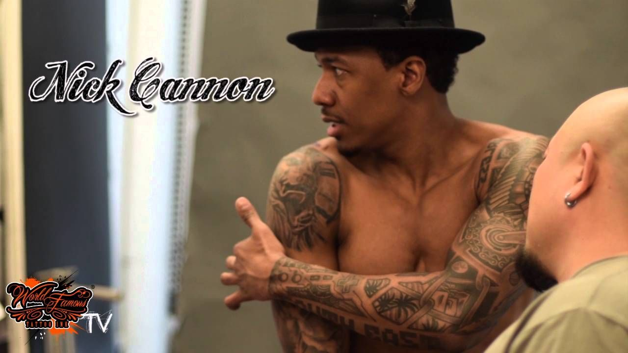 nick cannon tattoo - 1280×720