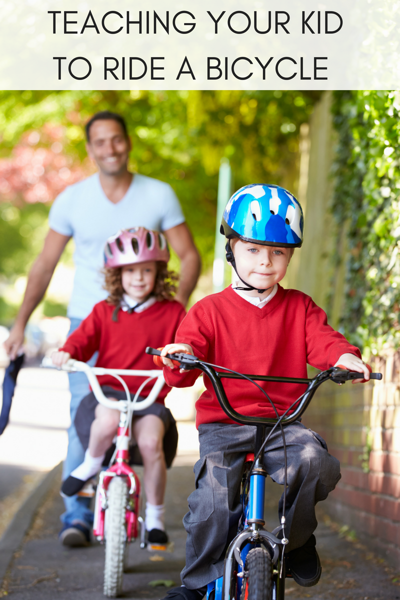 Top Tips To Teach Your Child To Ride Kids Bicycle Summer Fun