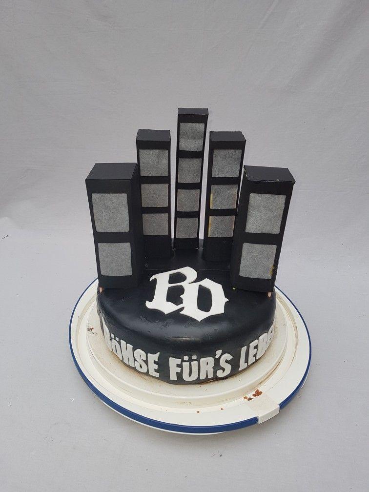Bohse Onkelz Torte Kuchen Geburtstag Motivtorte Bohse Onkelz