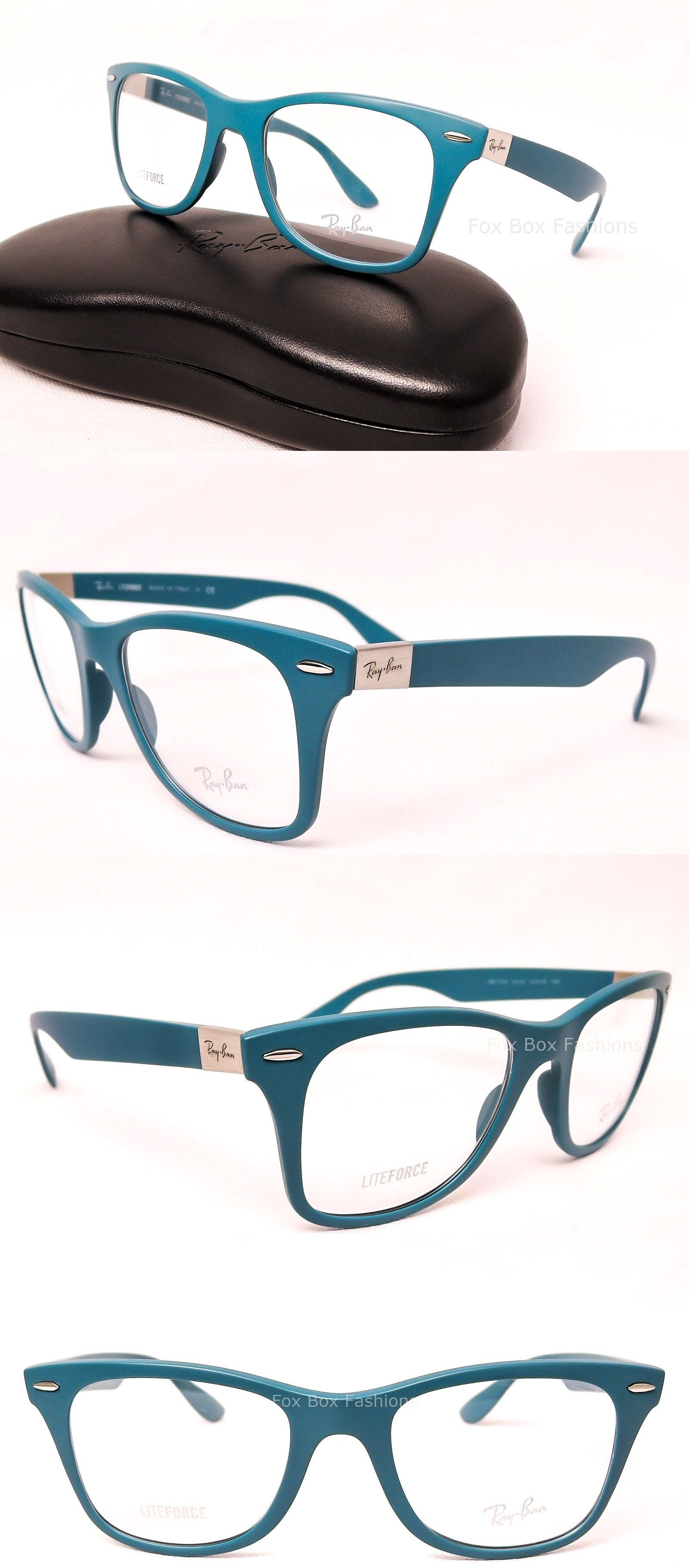 32e8d40a93e3 Eyeglass Frames  Ray-Ban 7034 5442 Liteforce Eyeglasses Optical Frames  Glasses Blue 50Mm -  BUY IT NOW ONLY   68.95 on eBay!