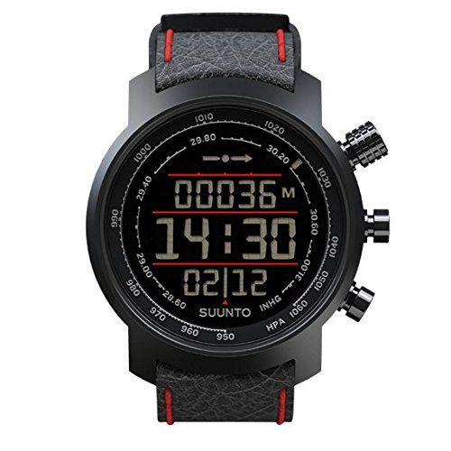 Suunto Elementum Terra Black and Red Leather * Click on the image for additional details.