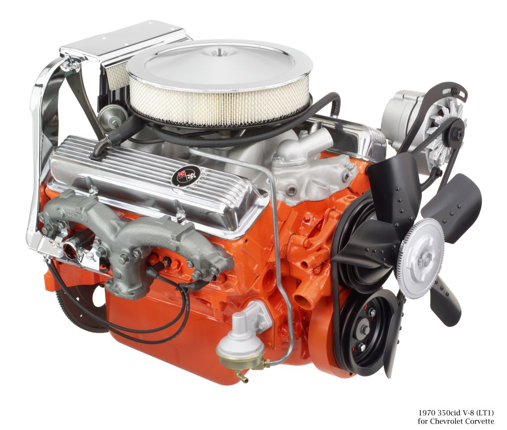 The New Lt1 V8 5th Generation Gm Small Block That Will