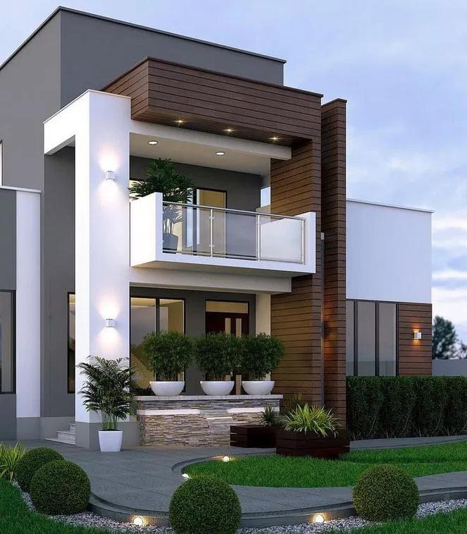 Pin By Carlin Zaly On Modern House Design Ideas Bungalow House Design Duplex House Design Home Building Design