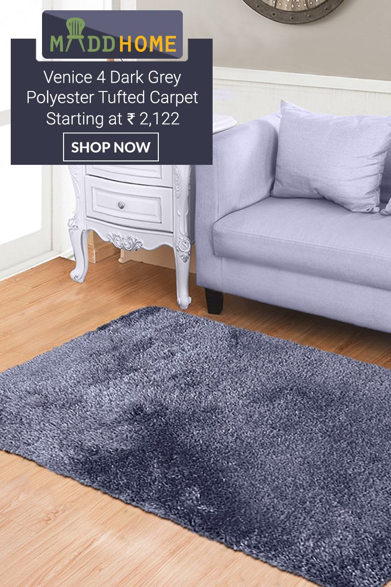 Dark Grey Tufted Polyester Ombre Bath Mat Only For Rs 472 Grab The Deal Home Decor Onlineshop Maddhome Bathma Carpet Tufted Rugs On Carpet