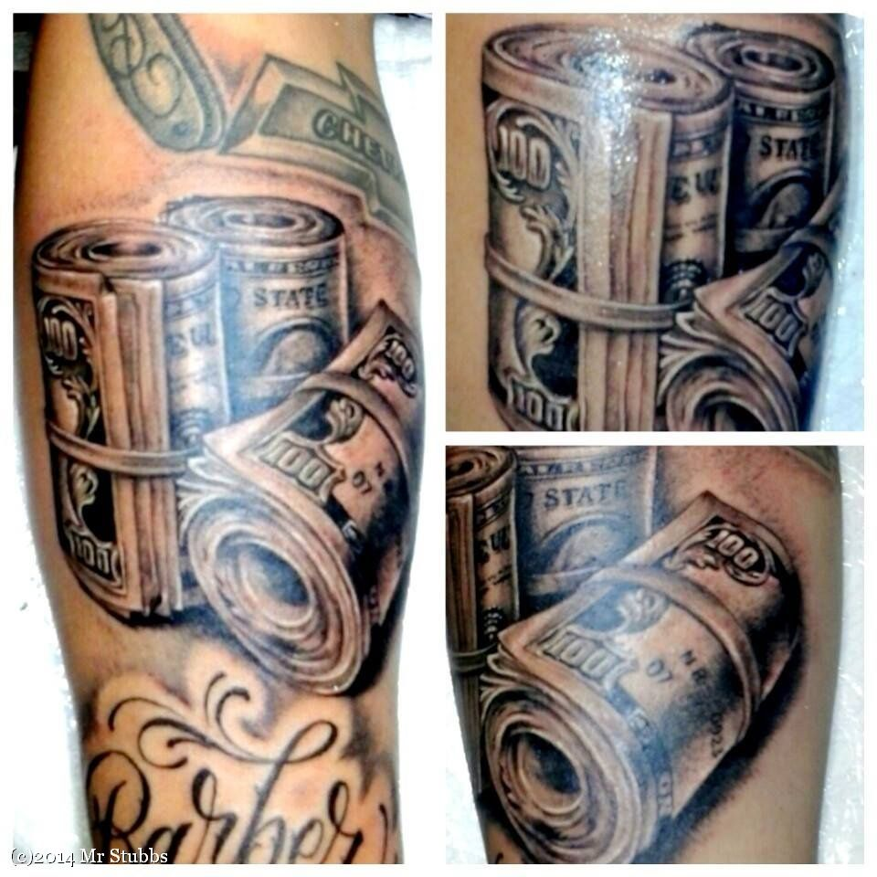 Money Tattoos Meanings and Design | Money tattoo, Tattoos ...