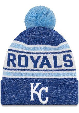 b6e745e9ca7 New Era Kansas City Royals Mens Navy Blue Toasty Cover Knit Hat ...