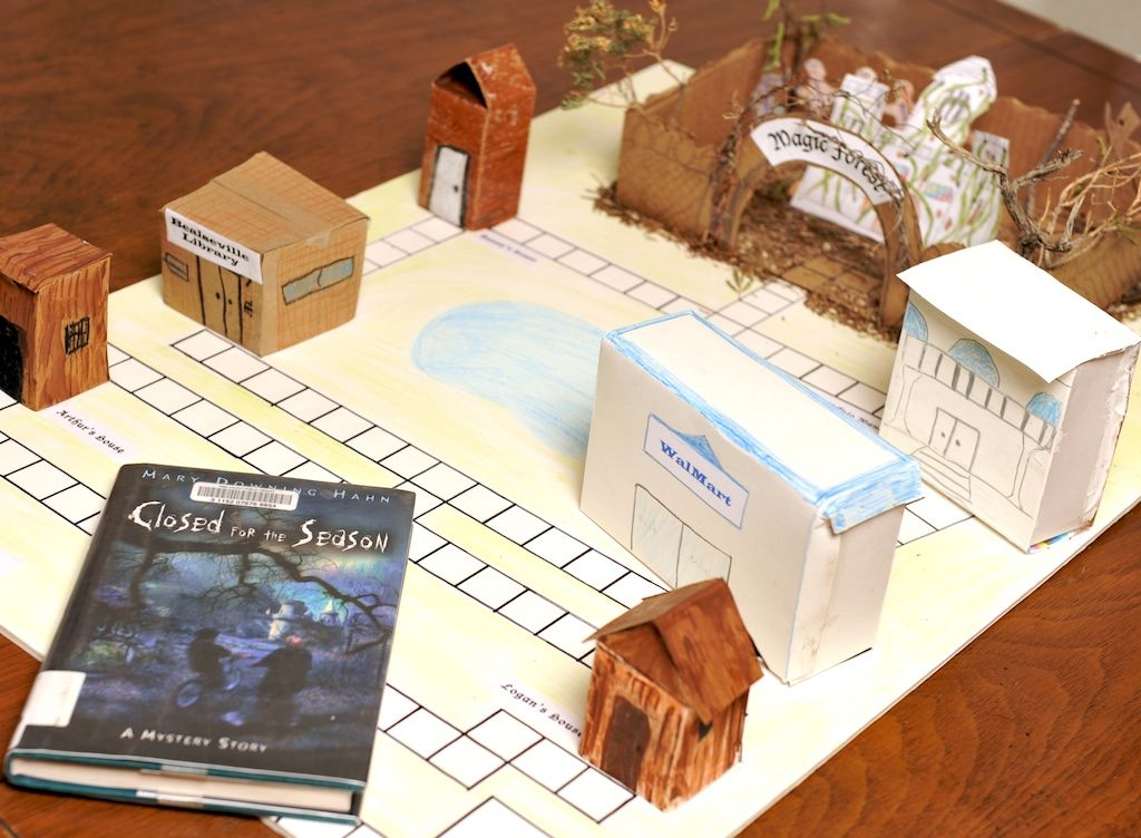 Make Your Own Board Game Board, Gaming and School