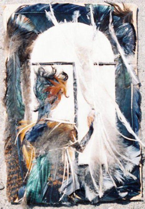Пух и перья: необычные картины-аппликации, рождённые безудержной фантазией и непосильным трудом