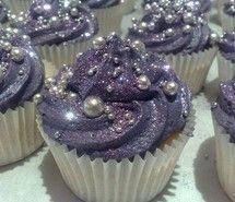 Glitter cupcakes:o