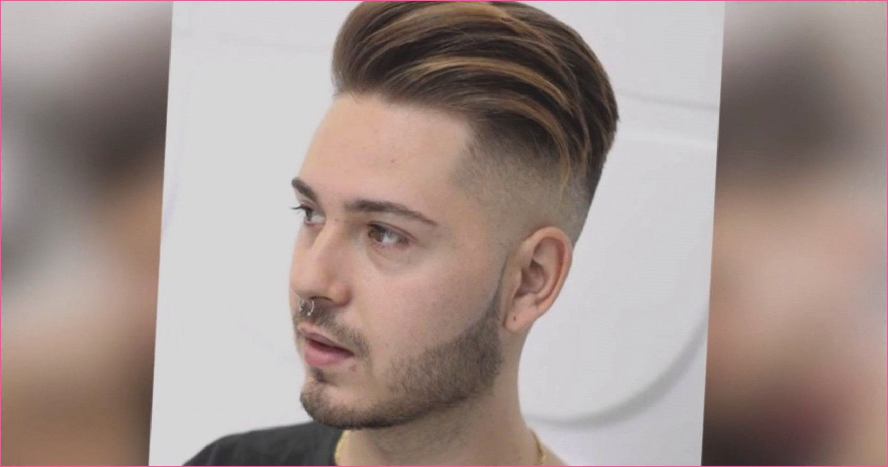 männer haarschnitt mit übergang in 2020 | haare stylen