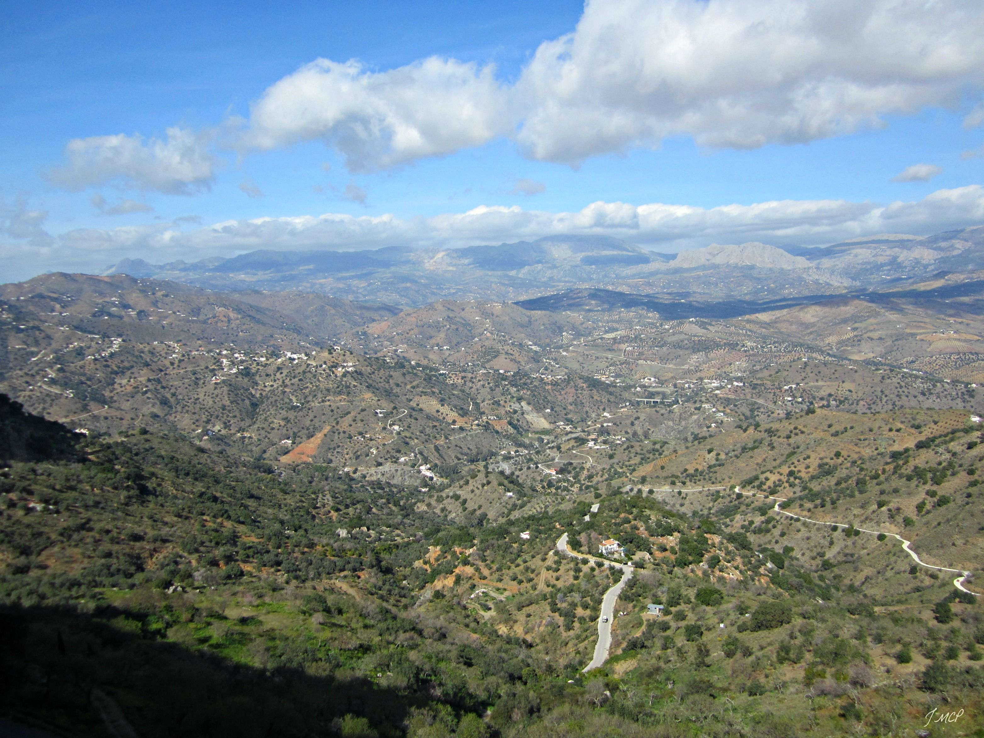 Montes de Málaga. (desde Comares)