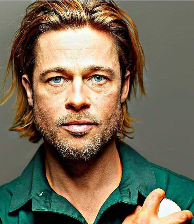 Pin By T On Brad Pitt Brad Pitt Long Hair Brad Pitt Hair Long Hair Styles