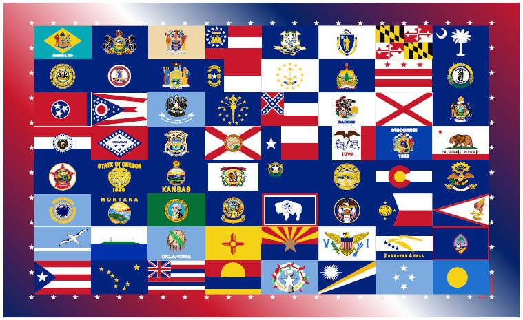 How Many States Refer To God In Their Own Constitutions State Flags Christian Nation Constitution