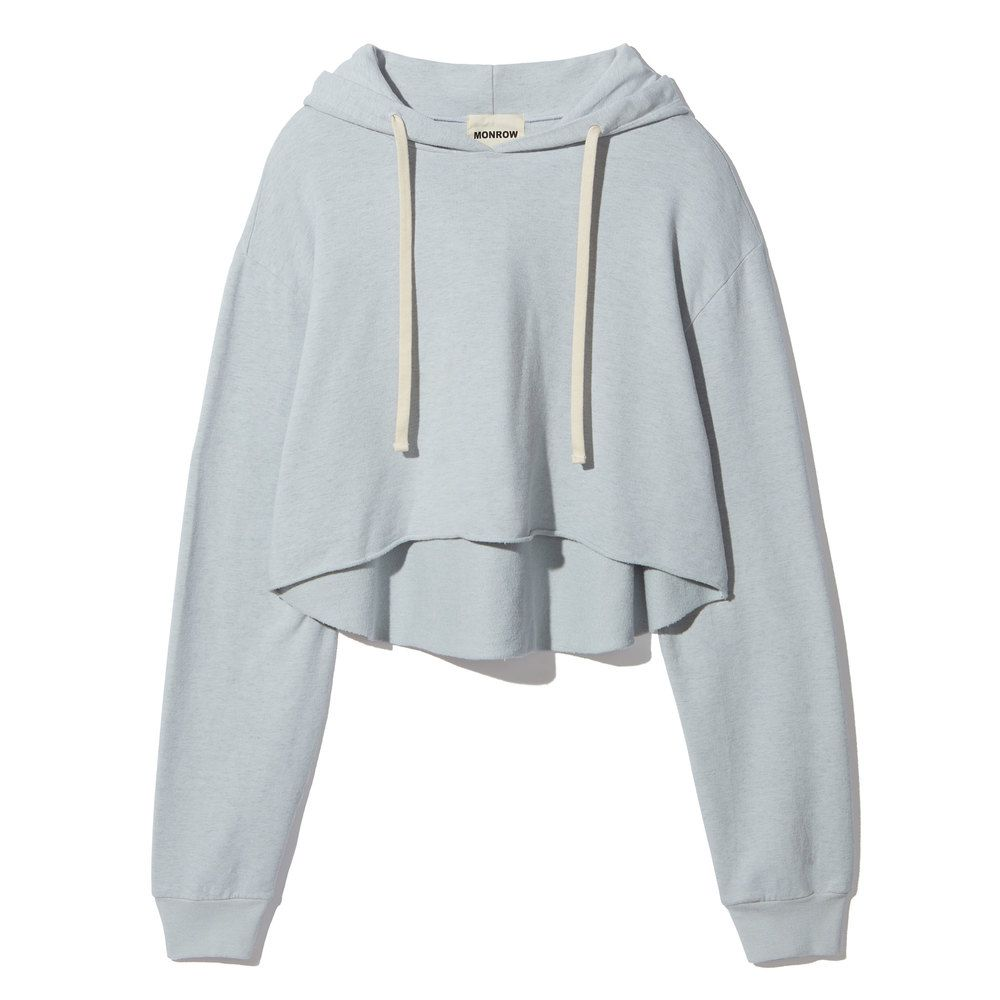Monrow | Oversized Cropped Hoody | Goop | FORMYNEW2017SFHOME ...