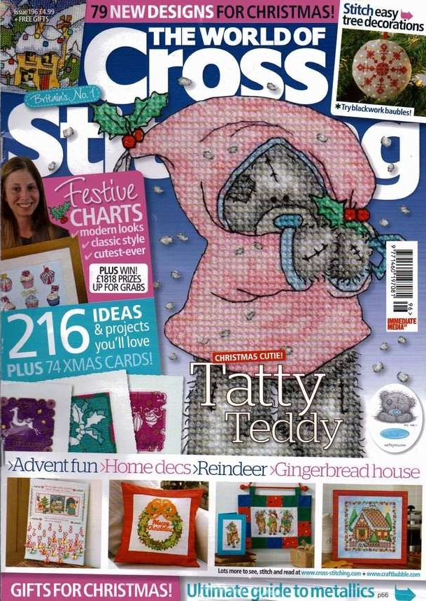 The World of Cross Stitching Issue 196 Patterns pinned