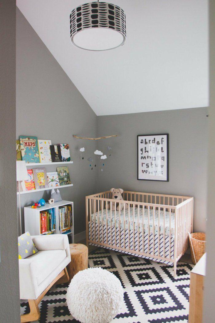 wohnideen kinderzimmer bücherregale teppichmuster | babyzimmer, Wohnideen design