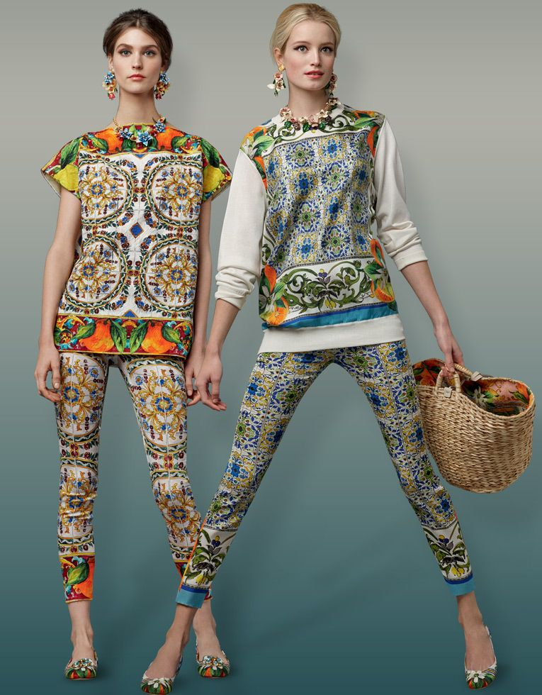 dolce-and-gabbana-fall-winter-2014-2015-majolic-print-tops-and-trousers-shop-the-look