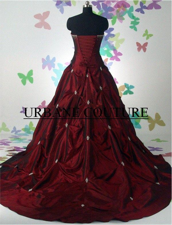 gothic wedding dresses | Gothic Prom Dresses Wedding Dressesgowns ...