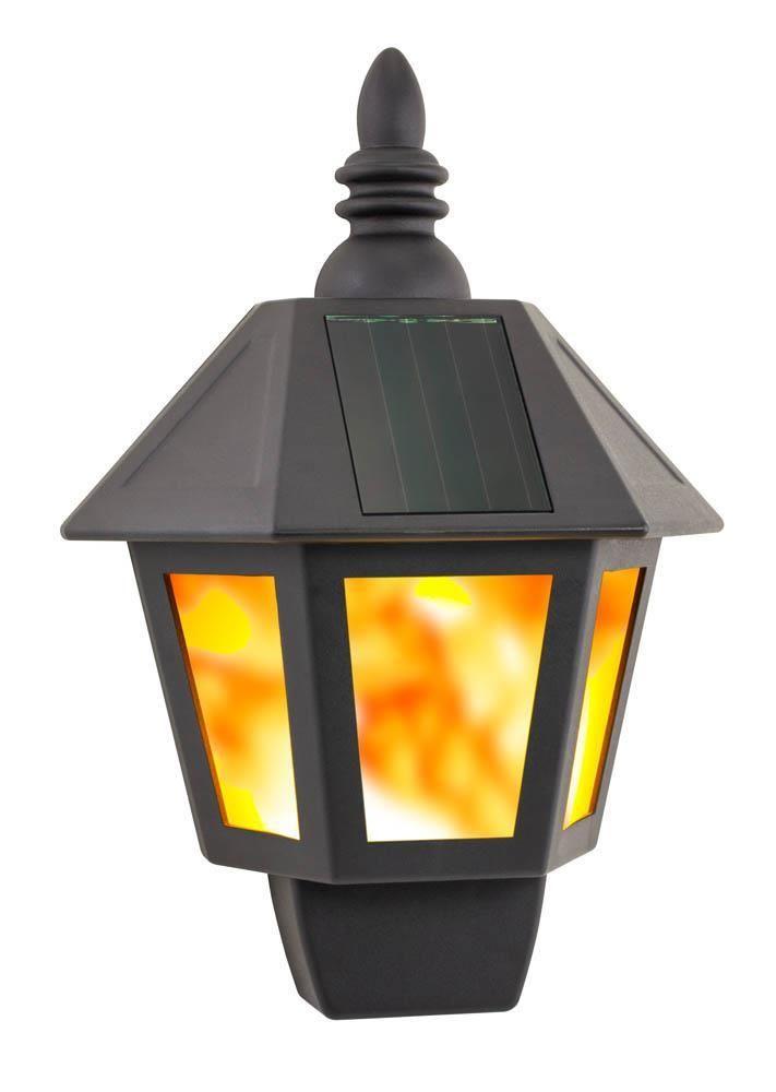 Solar Fire Wall Lantern Outdoor