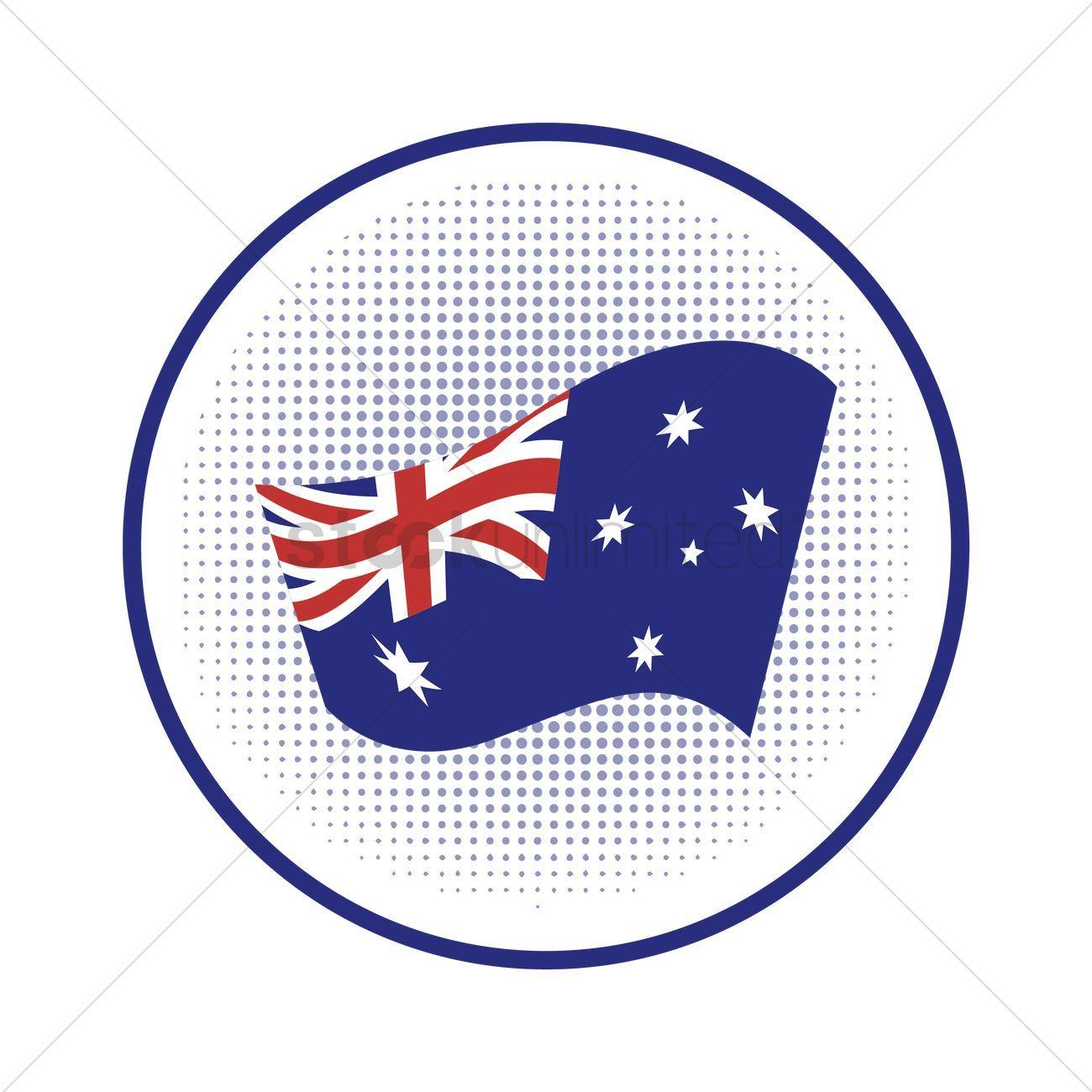 Australia Flag Clipart Black - Flag Of Australia - Png Download (#476546) -  PinClipart