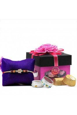 Have a look at this beautfiul Choco Mocha Rakhi Hamper #gifthampersonline #onlinegifthamper #rakshabandhanoffers #giftsonline Shop here-  https://trendybharat.com/festival/rakhi-gifts/rakhi-online/choco-mocha-rakhi-hamper-rbcho16-06