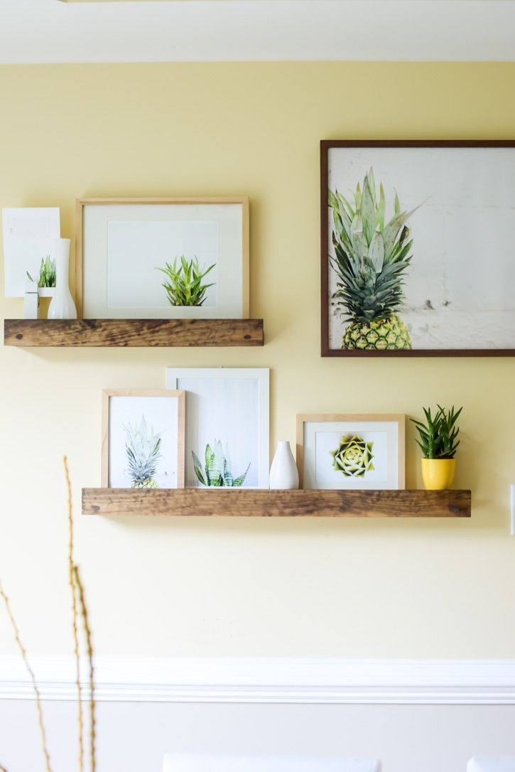 cluster of similar art on wooden shelf colorful layered home focused fun and family design sponge also rh pinterest
