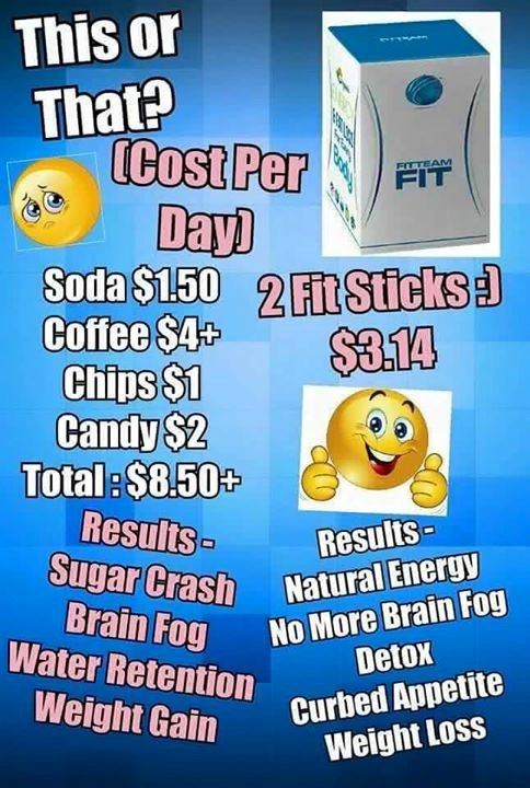 Nevermind That Fit Sticks Are Cheaper Than Using A Sugar