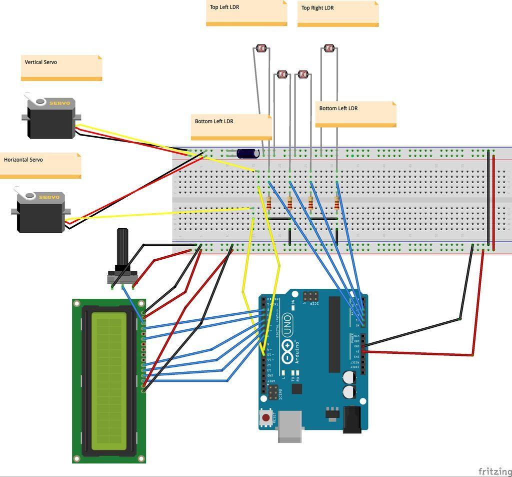 Arduino solar tracker pinterest