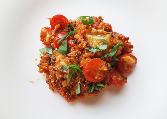 Quinoagratäng   Vegetarisk måndag.