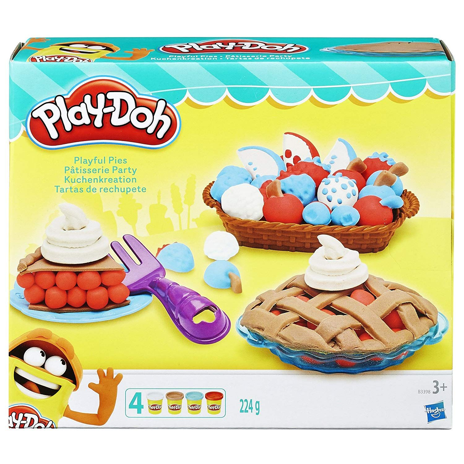Play Doh Playful Pies Set Only 6 99 Reg 20 Save 65 On Amazon Head To Amazon To Score This Play Doh Playful Pies S Play Doh Easter Baskets Pie Shop