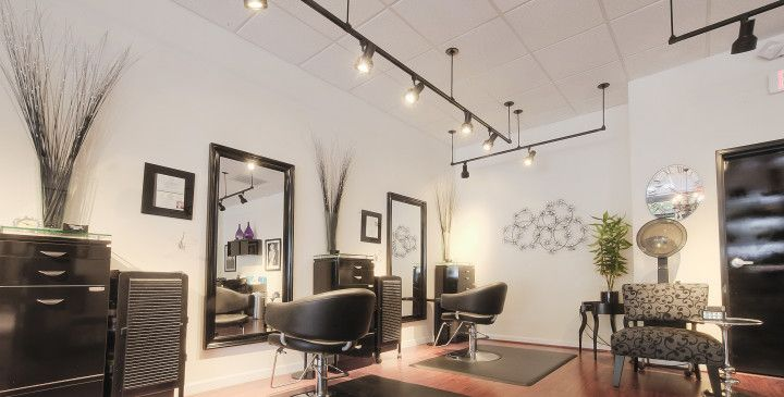 Improving Hair Salon Lighting Strandz Updates To Led 107