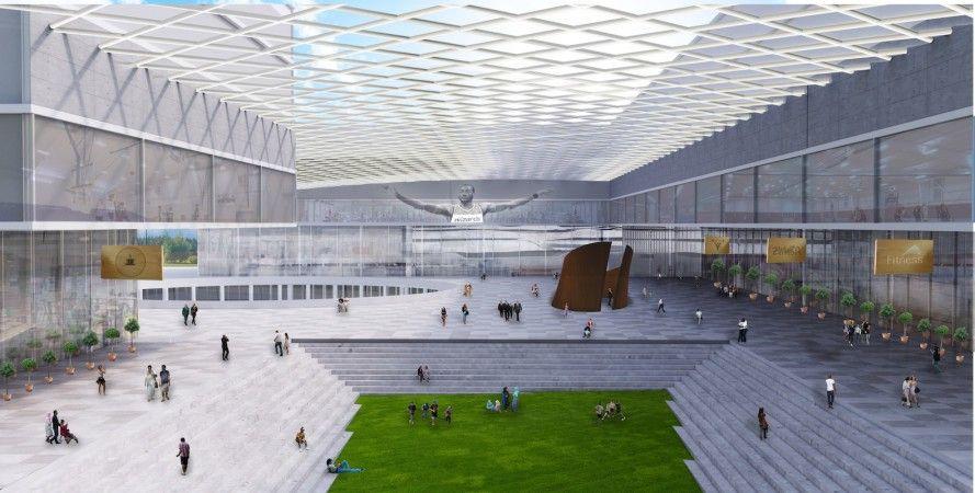 OMA unveils designs to transform iconic RFK StadiumArmory