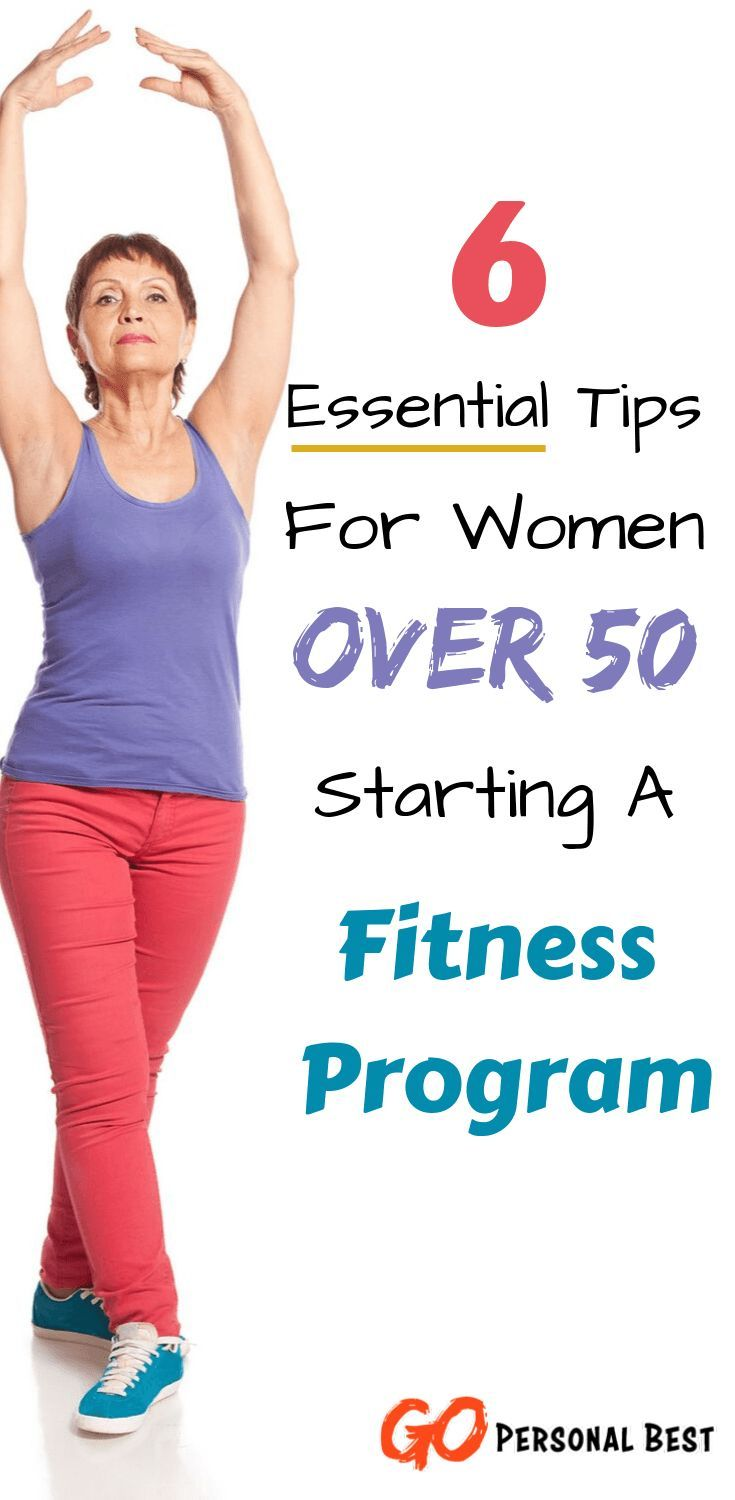 Great article and tips for workouts for older women over 50. Beginning a new workout routine can see...