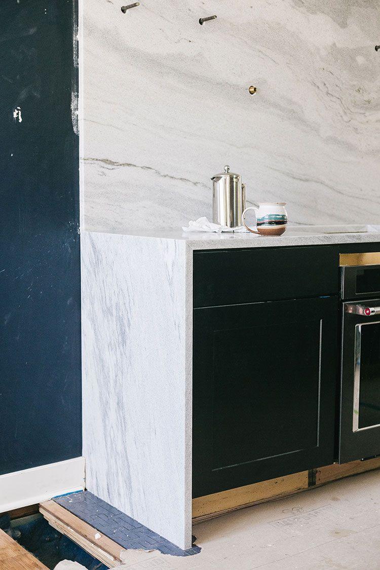 Our Kitchen Renovation Polycor Stone Countertops Backsplash Stone Countertops Countertops Interior Design Kitchen