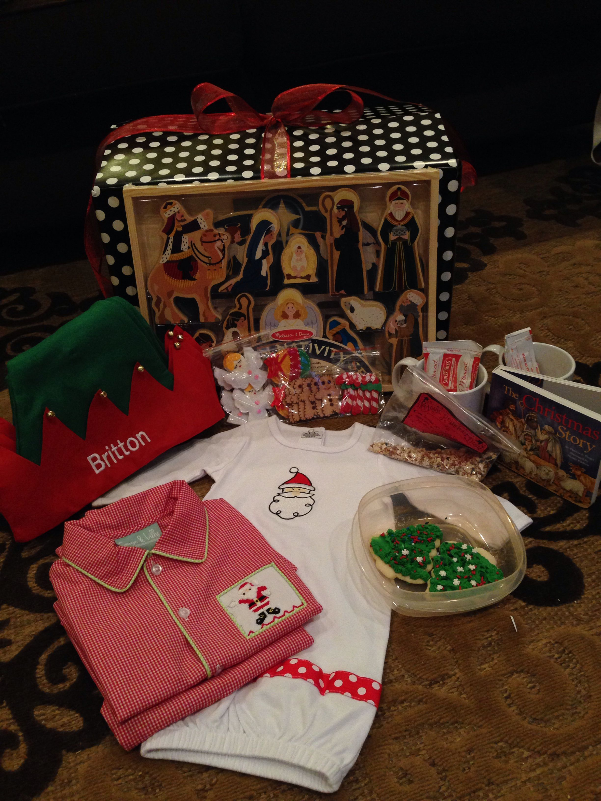 Christmas Eve box 2013: nativity, Christmas story board book ...