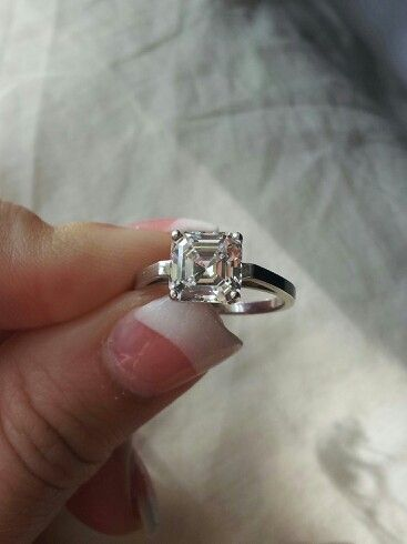 My 2 04 Carat Cher Cut Ring From Berricle