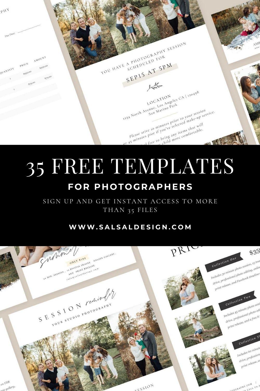 35 Free Photography Marketing Templates Photography Marketing Templates Marketing Template Photoshop Templates Free Free marketing template for photographers