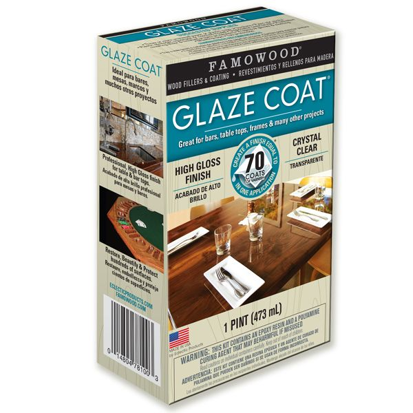... Glaze Coat Is A Pour On Epoxy Coating That Can Be Used On Most  Surfaces, Rough Or Smooth, Stained Or Painted. Itu0026 Great For Coating Tables  Or Bar Tops