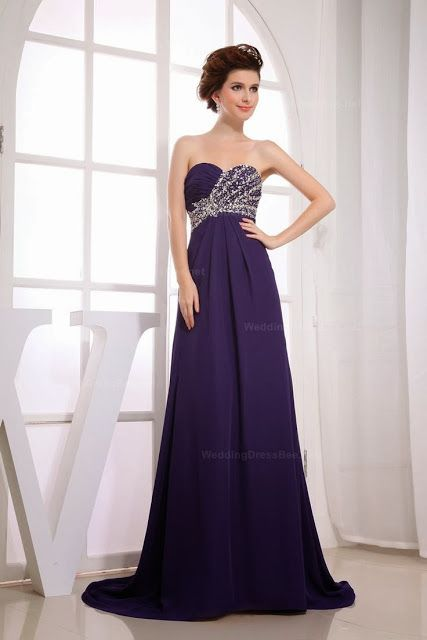 Elegant Strapless Half Beaded Ruched Top Evening Dress