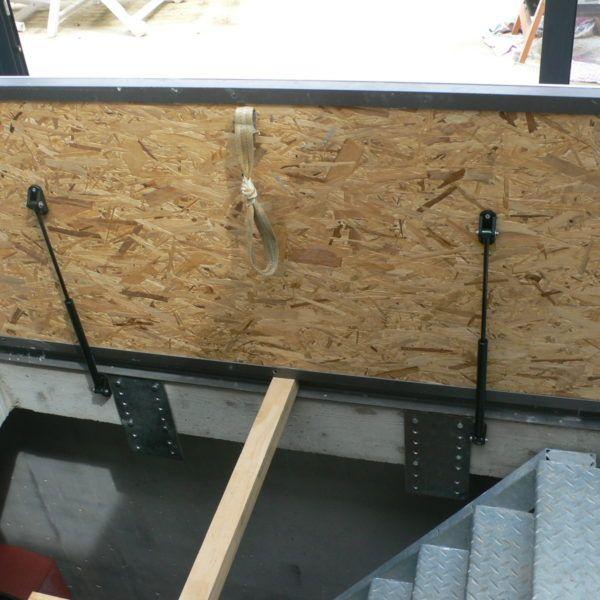 Trappe Bois Contreplaque Avec Images Trappe Escaliers De La