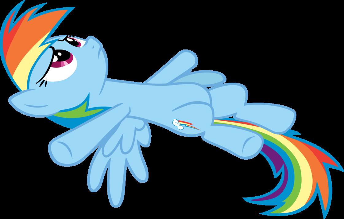 Rainbow Dash Lying Down My Little Pony Mlp Pinterest Rainbow
