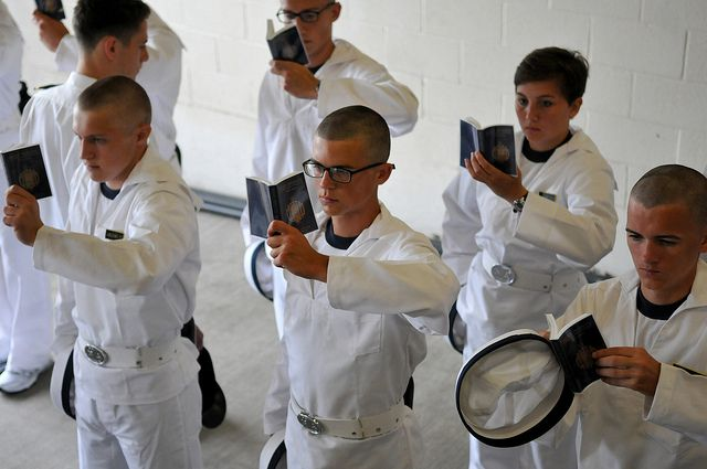 plebes study reef points faces of the fleet naval academy go