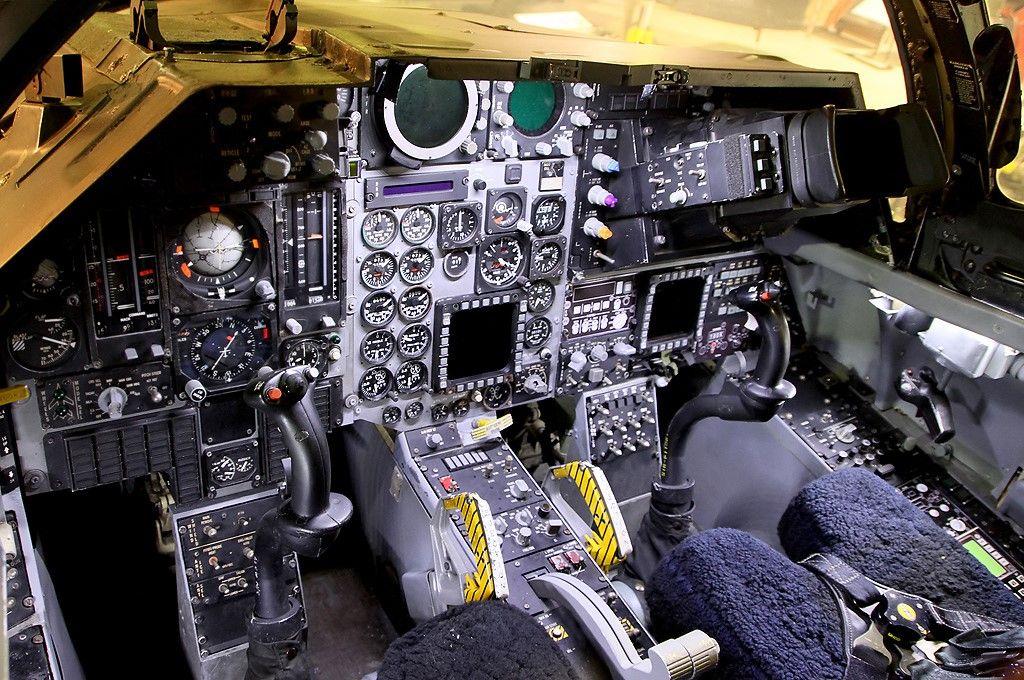 "RAAF F111G ""Pig"" Cockpit, Flight simulator cockpit"