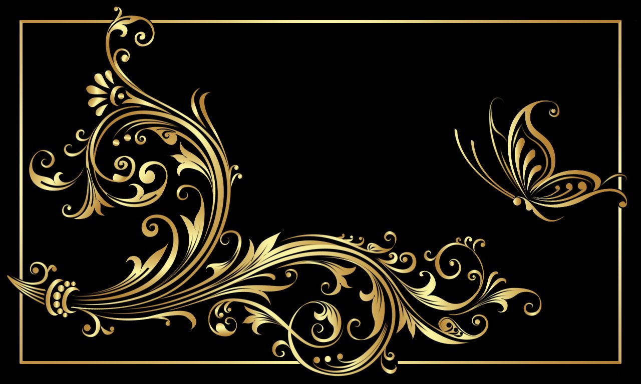 All Black and Gold Background | Black Gold | орнамент (альбом 2 ...
