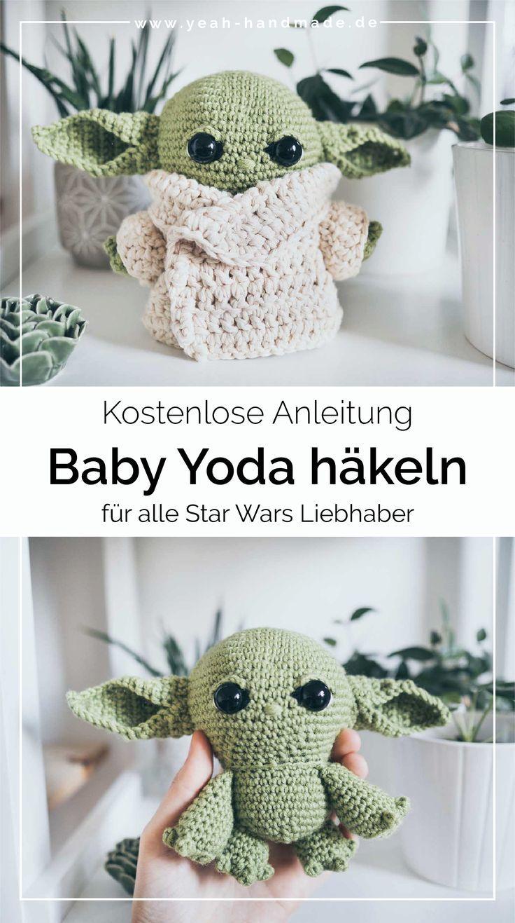 DIY Baby Yoda häkeln – kostenlose Anleitung • Yeah Handmade