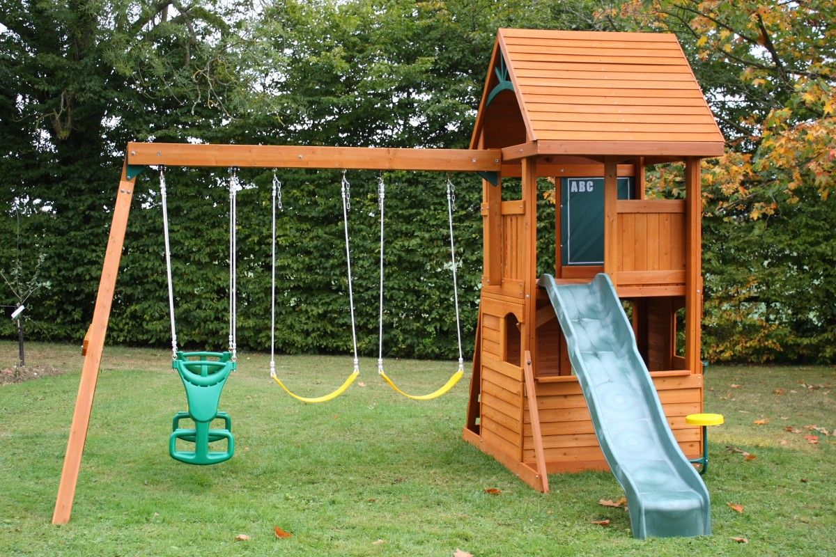 12 Some Of The Coolest Initiatives Of How To Makeover Backyard Landscape Ideas Backyard Swing Sets Backyard Swings Wooden Swing Set